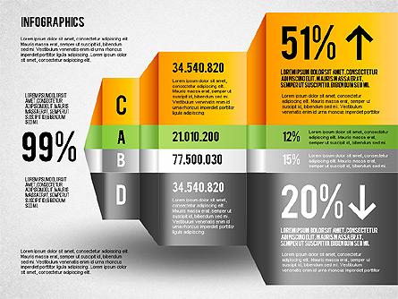 Infographics Chart Toolbox Presentation Template, Master Slide