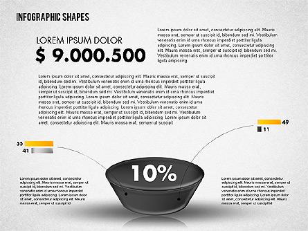 Funnel Infographics Presentation Template, Master Slide