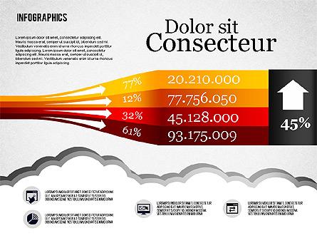Infographics Diagram Set Presentation Template, Master Slide