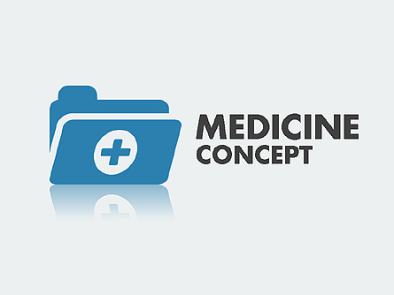 Medical Presentation Concept Presentation Template, Master Slide