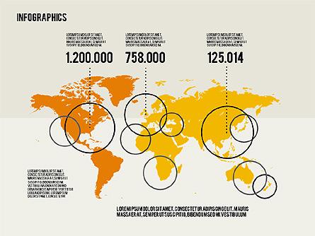 Infographics Toolbox in Flat Design Presentation Template, Master Slide