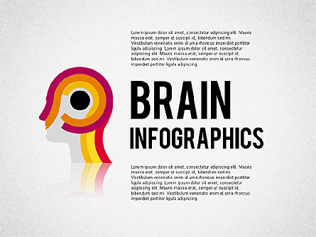Brain Infographics Presentation Template, Master Slide