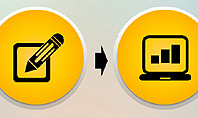 Media Sharing Process with Icons