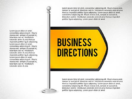 Business Directions Presentation Template, Master Slide