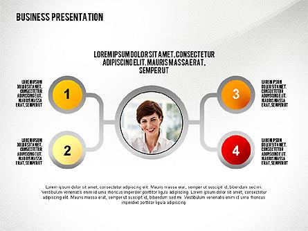 Business Results Presentation Template Presentation Template, Master Slide