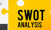 SWOT Analysis with Puzzle Pieces