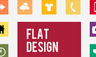 Flat Design Presentation Template with Icons