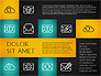 Flat Presentation Template with Icons slide 15