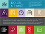 Flat Presentation Template with Icons slide 8