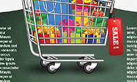 Shopping and Sale Infographics Toolbox