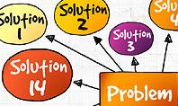 Problem Solution Process Diagram