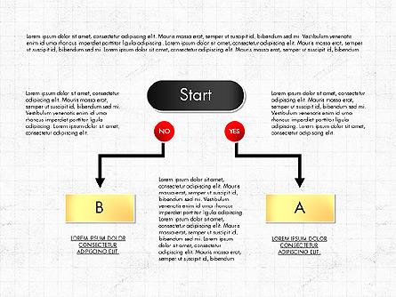 Block Diagram Presentation Template, Master Slide