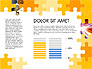 Yellow Puzzle Frame Presentation Concept slide 7