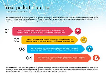 Flat Designed Creative Report Deck Presentation Template, Master Slide