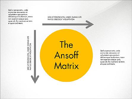 Ansoff Matrix Presentation Template, Master Slide