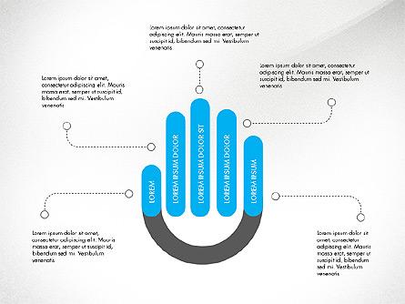 Infographic Shapes Presentation Template, Master Slide