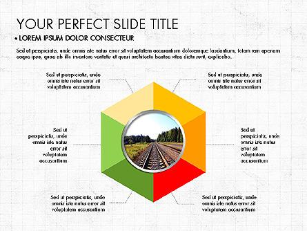 Donut Presentation Concept Presentation Template, Master Slide