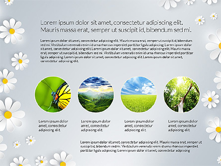 Nature Conservancy Presentation Report Presentation Template, Master Slide