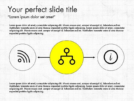 Process Flow Presentation Template, Master Slide