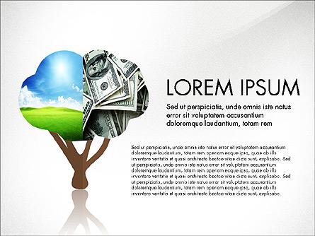 Investments Presentation Concept Presentation Template, Master Slide