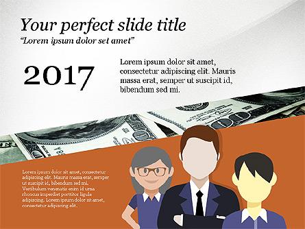 Project Team Presentation Concept Presentation Template, Master Slide