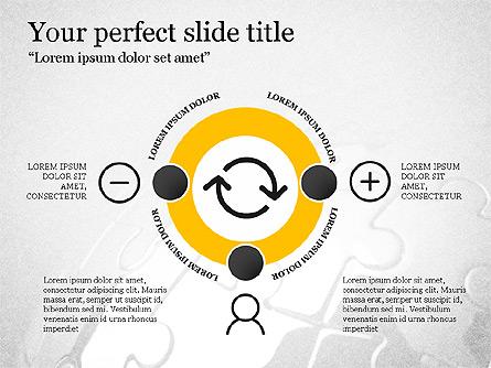Trendy Thin Lines Presentation Template Presentation Template, Master Slide