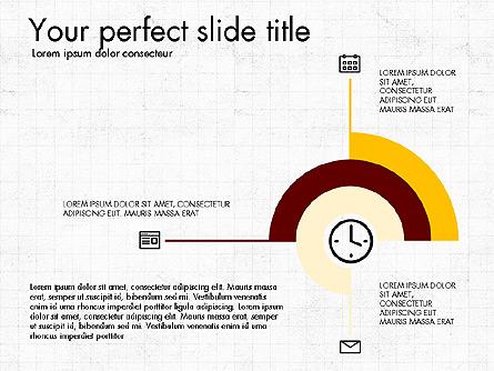 Business Presentation with Flat Design Shapes Presentation Template, Master Slide