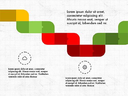 Process Options and Stages Slide Deck Presentation Template, Master Slide