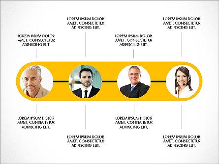 Business Relationships Presentation Concept Presentation Template, Master Slide