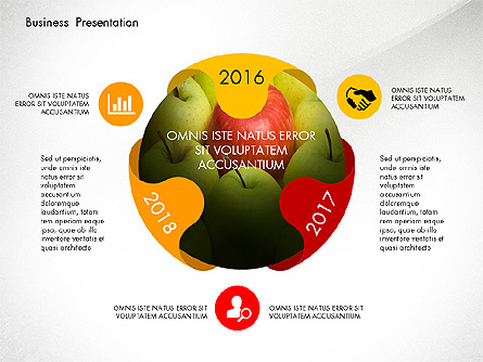 Infographics Slides Presentation Template, Master Slide