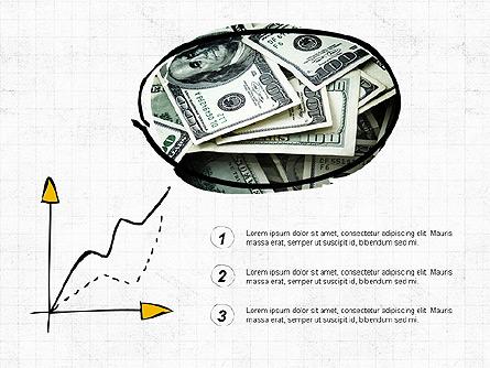 Investment Decision Presentation Deck Presentation Template, Master Slide