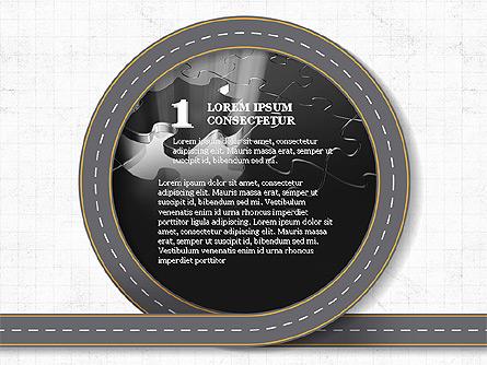 Roadmap Presentation Deck Presentation Template, Master Slide