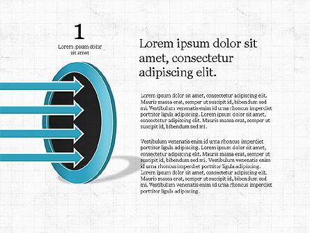 Funnel Presentation Concept Presentation Template, Master Slide