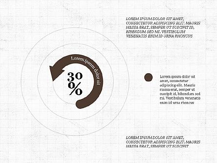 Circular Infographics Presentation Template, Master Slide