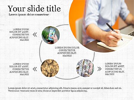 Financial Process Presentation Concept Presentation Template, Master Slide
