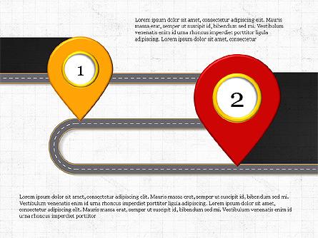 Roadmap Presentation Concept Presentation Template, Master Slide