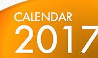 2017 PowerPoint Calendar
