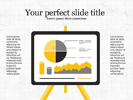 Project Analytics Presentation Template Presentation Template, Master Slide