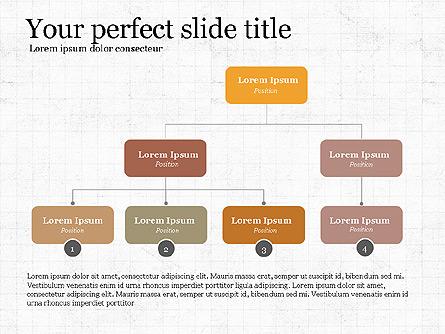 Business Process Presentation Concept Presentation Template, Master Slide