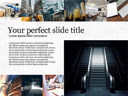 Brochure Presentation Template Presentation Template, Master Slide