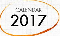 2017 Calendar for