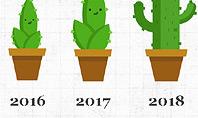 Growing Plant Presentation Concept