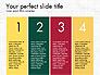 Numbered Items Agenda slide 2