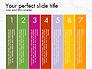 Numbered Items Agenda slide 7