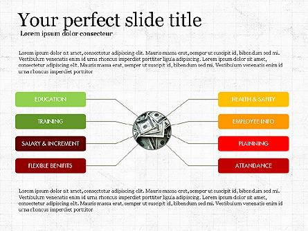 Employee Engagement Presentation Concept Presentation Template, Master Slide