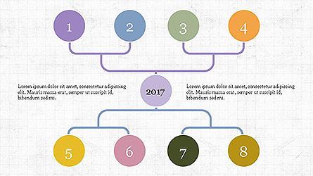 Organizational Charts Set Presentation Template, Master Slide