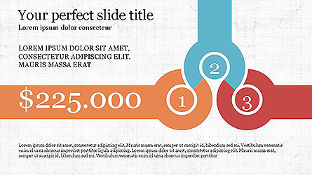 Round Infographic Concept Slides Presentation Template, Master Slide