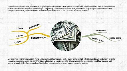 Tree Concept Diagram Set Presentation Template, Master Slide