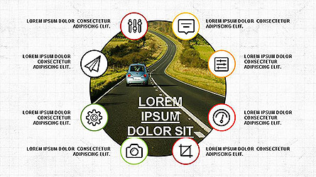 Presentation Template with Icons Presentation Template, Master Slide