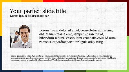 Colorful Options Presentation Template Presentation Template, Master Slide